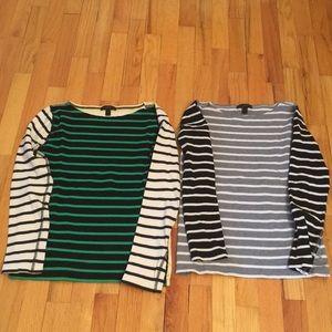 Jcrew long sleeve T-shirts
